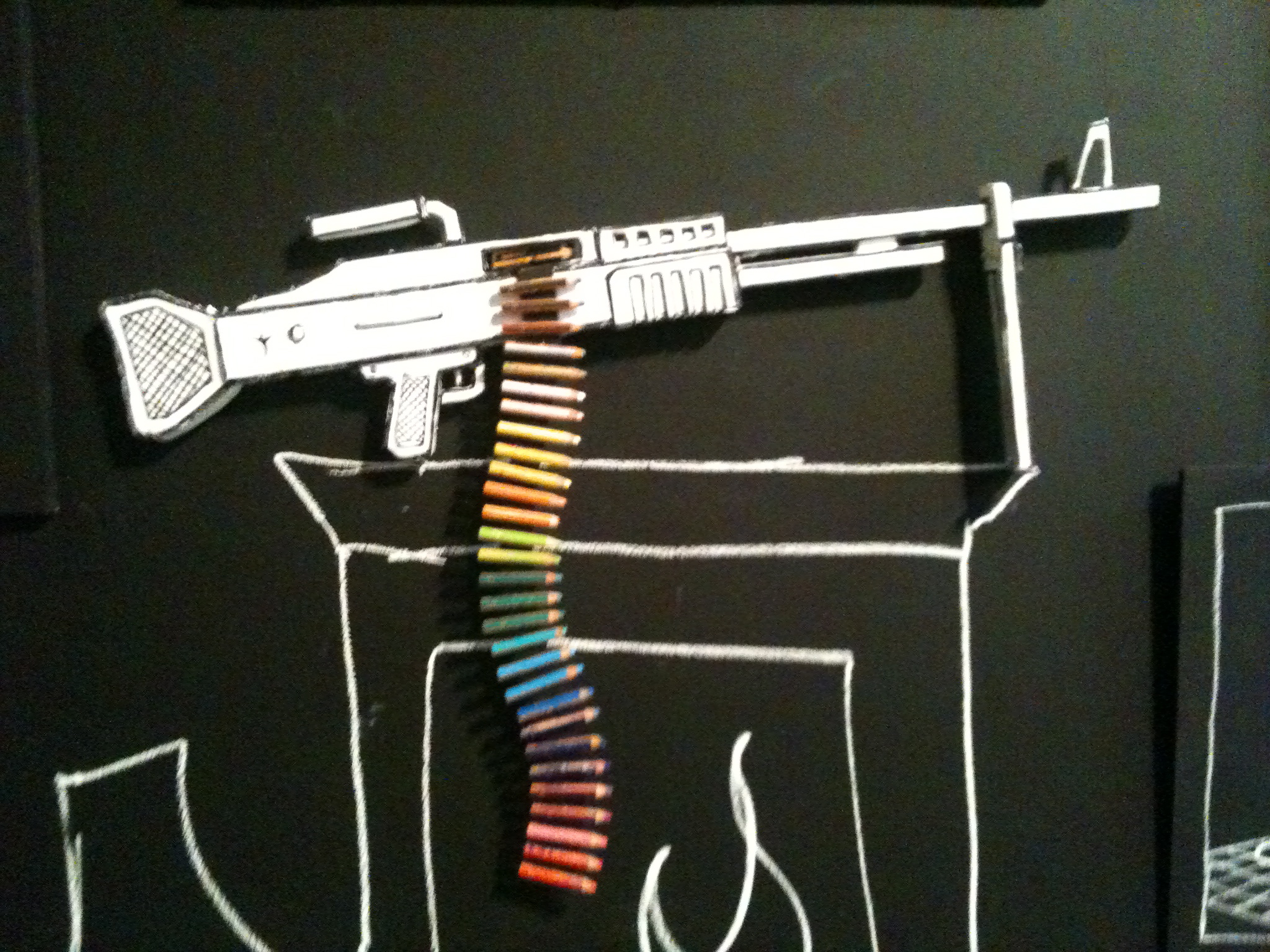 Luke's pic of gun