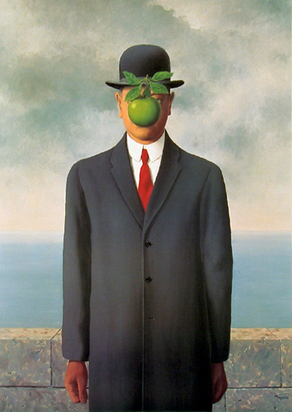 Magritte, The Son of Man